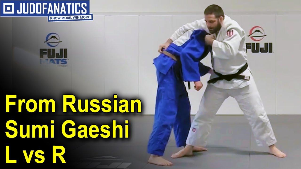 From Russian Sumi Gaeshi L vs R by Travis Stevens