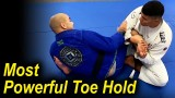 How To Do The Most Powerful Jiu Jitsu Toe Hold by Victor Hugo