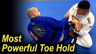How To Do The Most Powerful Jiu Jitsu Toe Hold by Victor Hugo