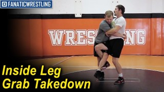 Inside Leg Grab Takedown by Dustin Schlatter