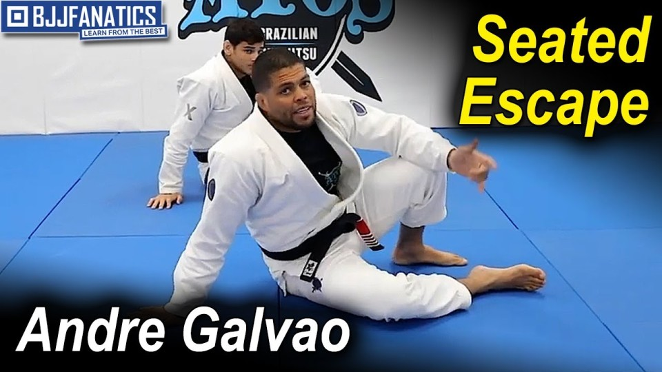 Seated Escape – BJJ Basics by Andre Galvao