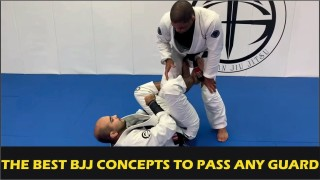 The Best BJJ Concepts To Pass Any Guard by André Galvão