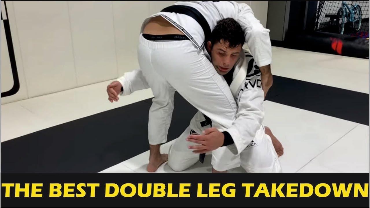 """The Best Double Leg Takedown For Jiu Jitsu by Marcus """"Buchecha"""" Almeida"""