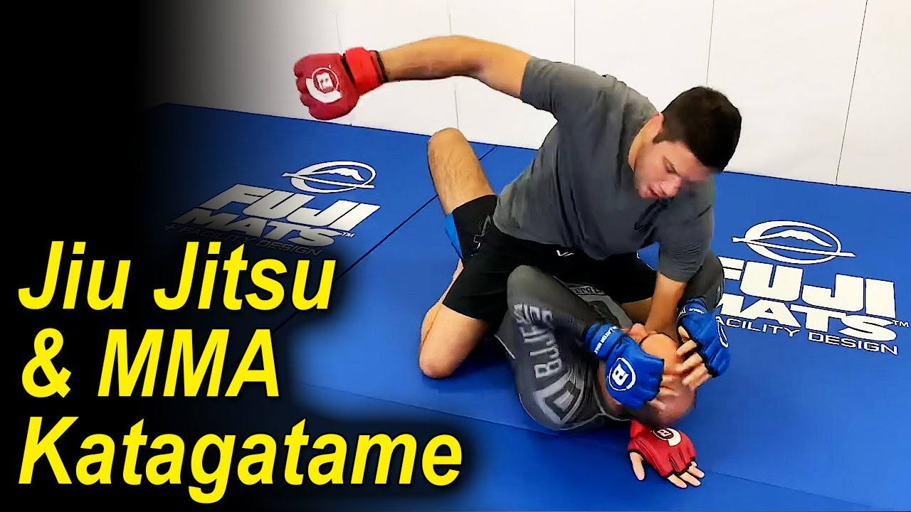 The Jiu-Jitsu & MMA Katagatame From Mount by Neiman Gracie