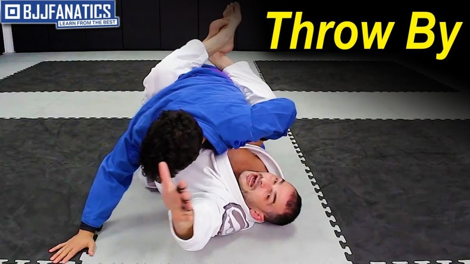 'Buster Guard' Throw By to Omoplata by Lou Armezzani