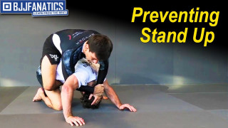 Preventing Stand Up with Demian Maia's Back Pack System